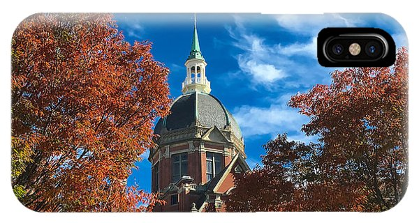 Fall And The Dome IPhone Case
