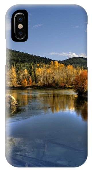 Fall At Blackbird Island IPhone Case