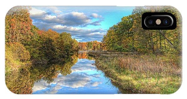 Fall At Brunswick Lake  IPhone Case