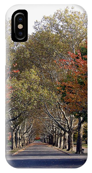 Fall At Corona Park IPhone Case