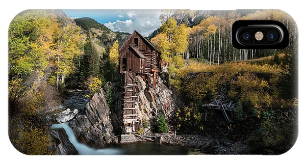 Fall At Crystal Mill IPhone Case