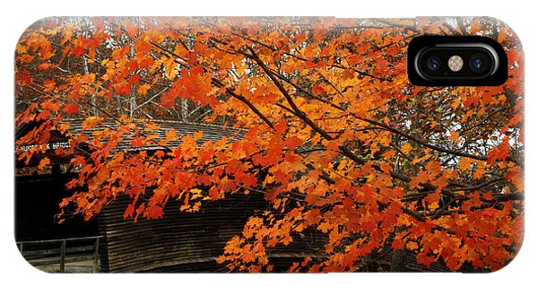 Fall At Humpback Bridge IPhone Case