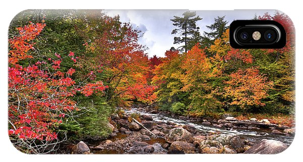 IPhone Case featuring the photograph Fall At Indian Rapids by David Patterson