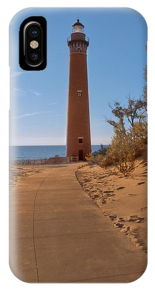 Fall At Little Point Sable Light IPhone Case