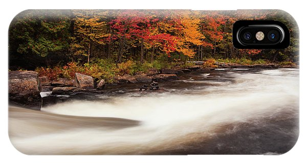 Fall At Oxtongue Rapids IPhone Case