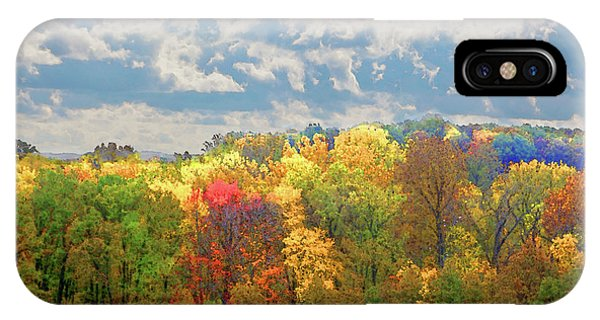 Fall At Shaw IPhone Case
