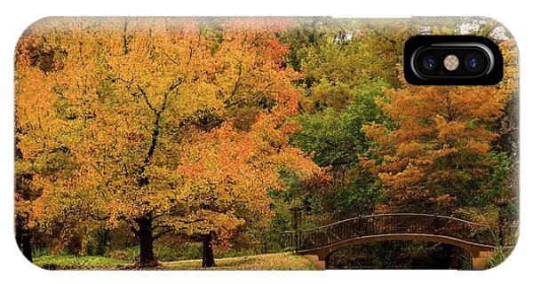 Fall At The Arboretum IPhone Case