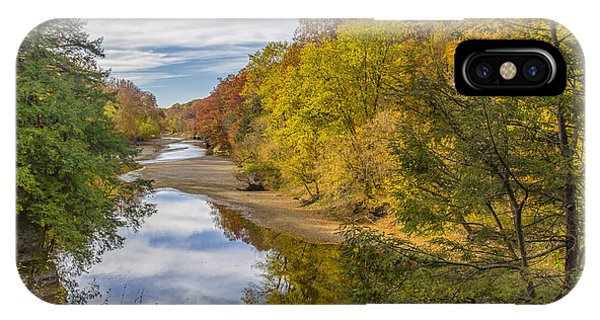 Fall At Turkey Run State Park IPhone Case