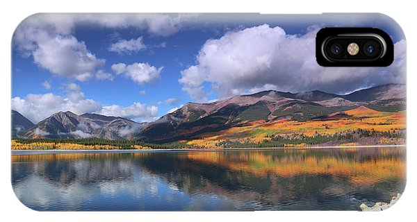 Fall At Twin Lakes IPhone Case