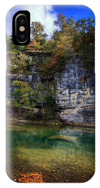 Fall Bluff At Ozark Campground IPhone Case