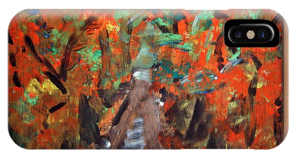 Fall By Colleen Ranney IPhone Case