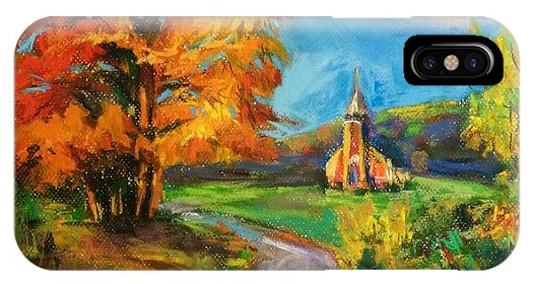Fall Church IPhone Case