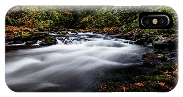 Fall Color At Cedar Creek IPhone Case