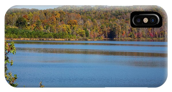 Fall Color At Lake Zwerner IPhone Case