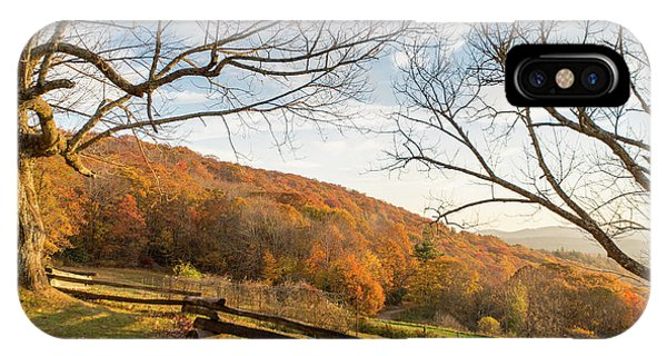 Fall Colors At The Moses Cone Estate IPhone Case