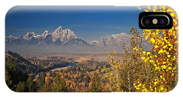 Fall Colors At The Snake River Overlook IPhone Case