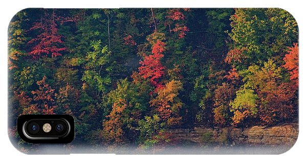 IPhone Case featuring the digital art Fall Colors by Christopher Meade