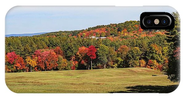 Fall Colors In Easthampton IPhone Case