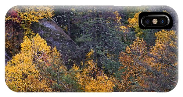 IPhone Case featuring the photograph Fall Colors by Ken Barrett