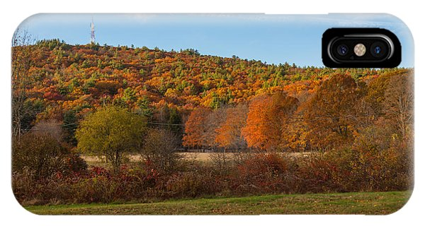 Fall Colors On Great Blue Hill IPhone Case