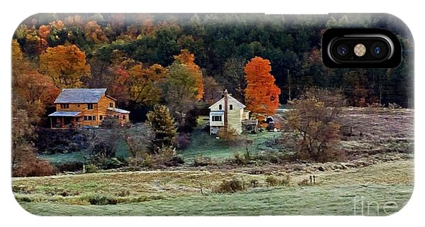 Fall Country Side - Vt2015 IPhone Case