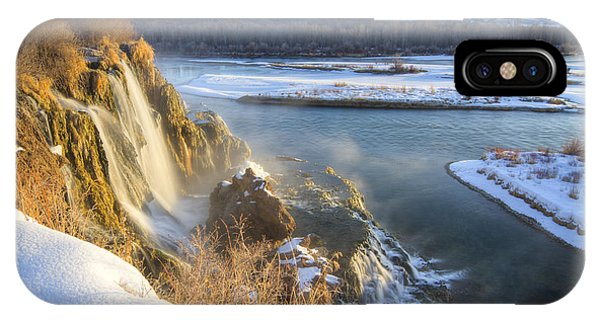 Fall Creek Winter IPhone Case