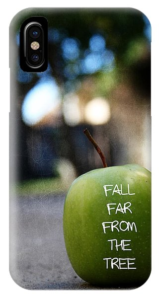 Growth iPhone Case - Fall Far From The Tree- Art By Linda Woods by Linda Woods
