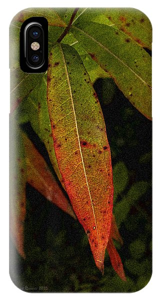 Fall Fireweed 1 IPhone Case