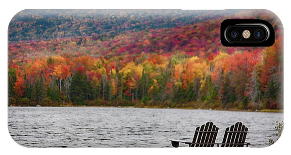 Fall Foliage At Noyes Pond IPhone Case