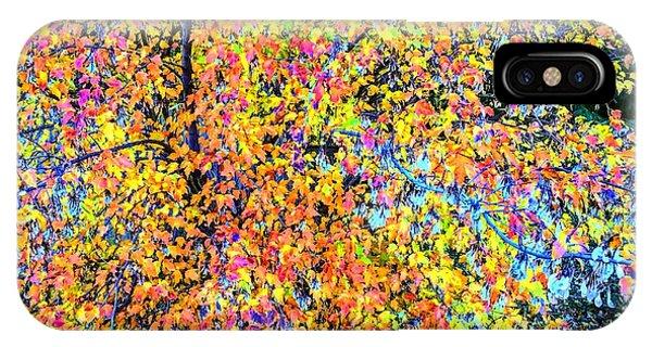 Fall Impressionism IPhone Case