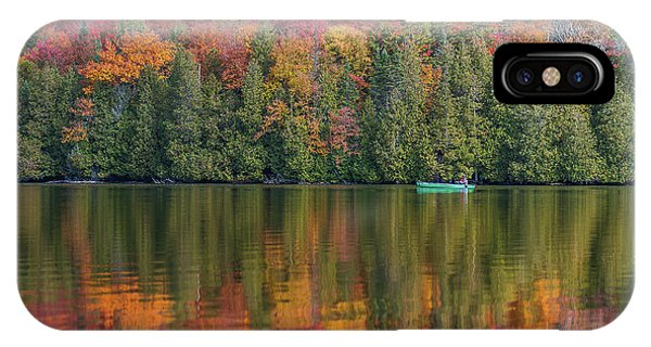 Fall In A Canoe IPhone Case