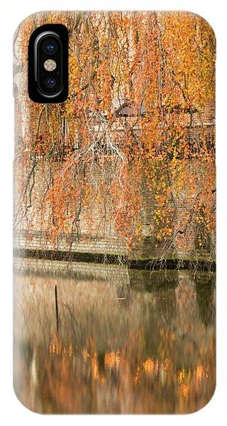Fall In Bruges, Belgium IPhone Case