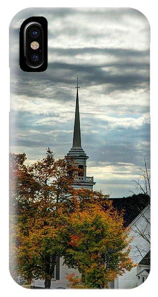 Fall In Lamoine IPhone Case