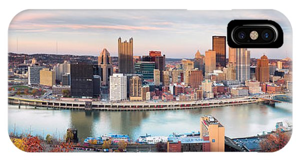 Fall In Pittsburgh  IPhone Case