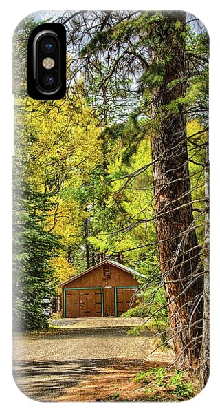 Fall In The Forest IPhone Case