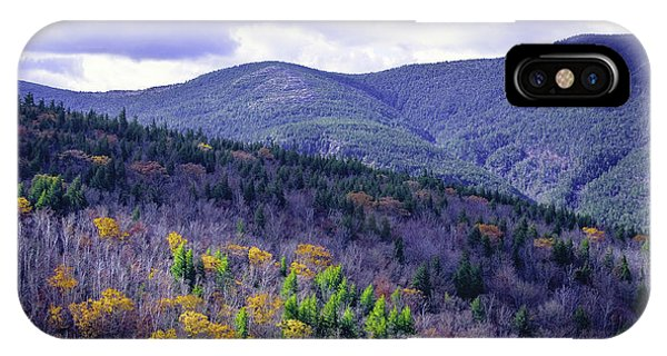 Fall In The White Mountains IPhone Case