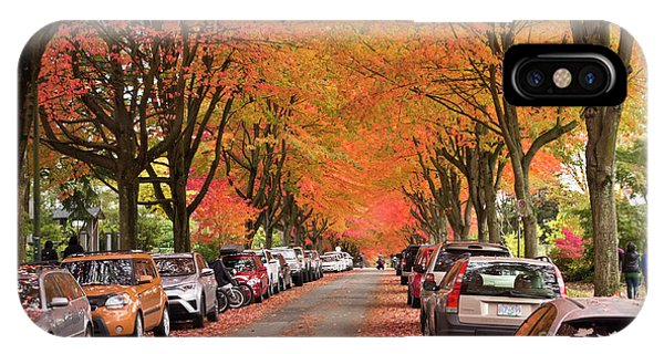 Fall In Vancouver 2017 1 IPhone Case