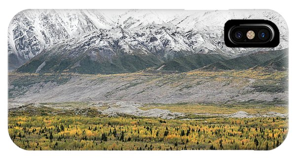 Fall In Wrangell - St. Elias IPhone Case