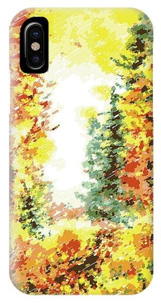 Fall Colors iPhone Case - Fall by Irina Sztukowski