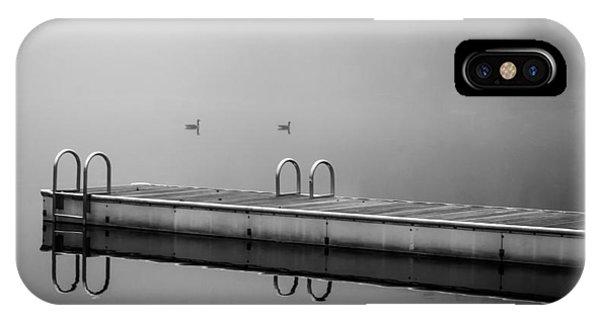 Fall Lake IPhone Case