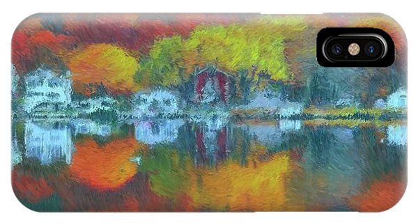 iPhone Case - Fall Lake by Harry Warrick
