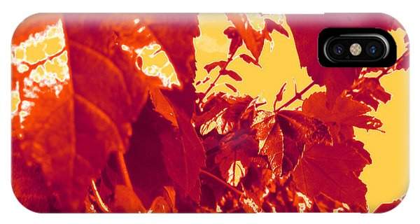 Fall Leaves #13 IPhone Case