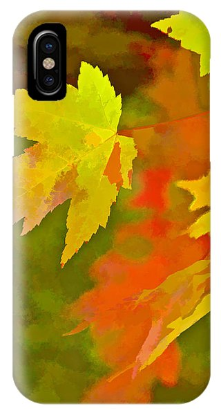Fall Of Leaf IPhone Case