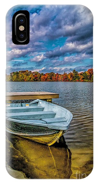 Fall On Alloway Lake IPhone Case
