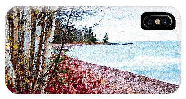 Fall On Lake Superior IPhone Case