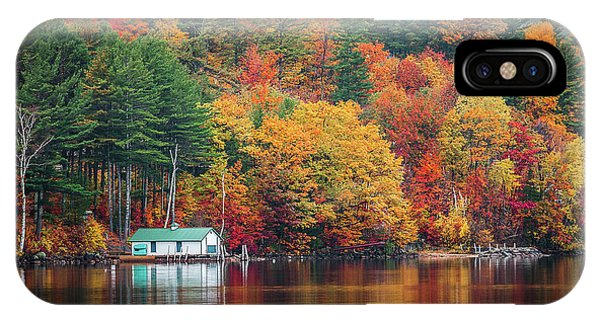 Fall On Lake Winnipesaukee IPhone Case