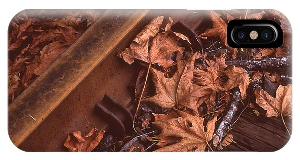 Fall On The Rails IPhone Case