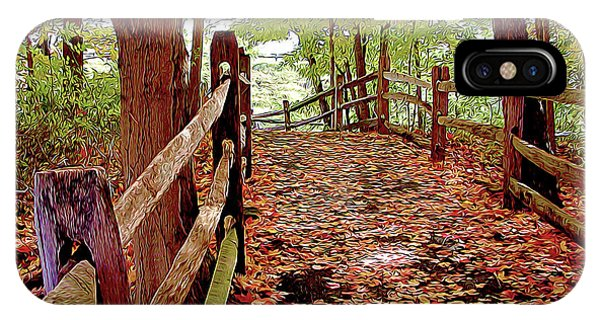 Fall Pathway IPhone Case