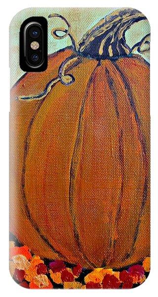 Fall Pumpkin IPhone Case