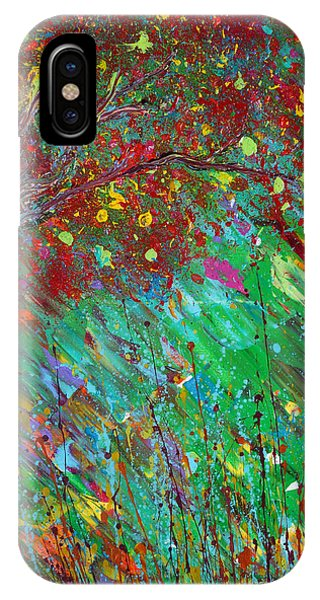 IPhone Case featuring the painting Fall Revival by Jacqueline Athmann